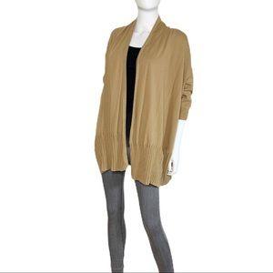 MICHAEL KORS Cardigan Sweater Brown Size Large